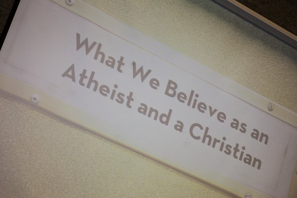 Atheist and Christian