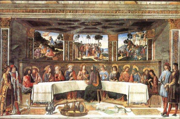 Saying Grace, Saving Grace, Last Supper
